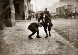 Penny-Pitchers: 1912