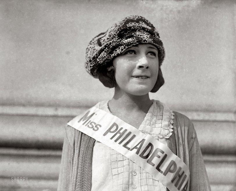 Miss Illegible: 1921