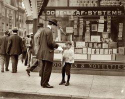Don't Smoke, Visits Saloons: 1910