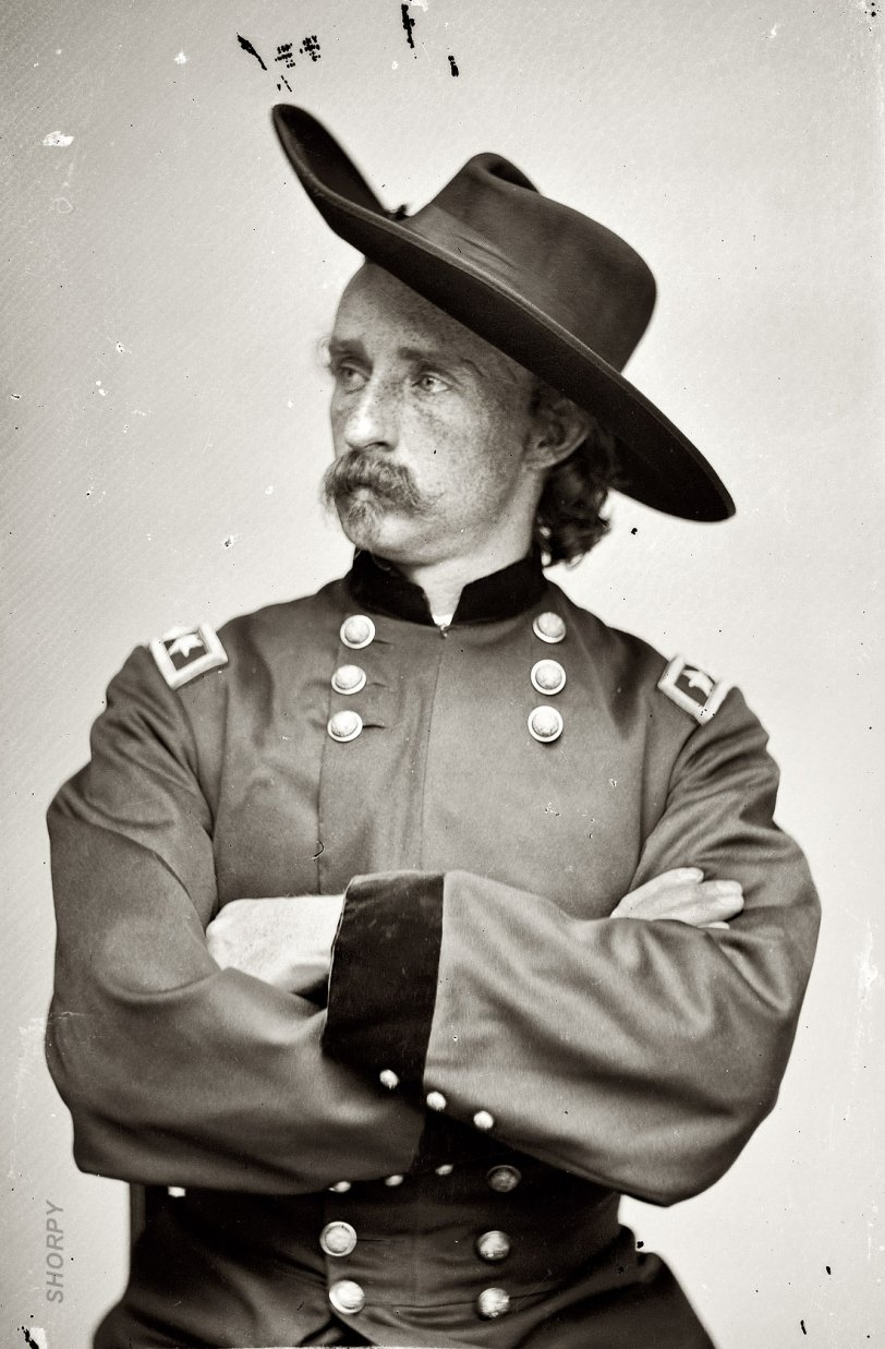 The Continental Nyc >> Young Custer: 1865 | Shorpy Old Photos | Poster Art