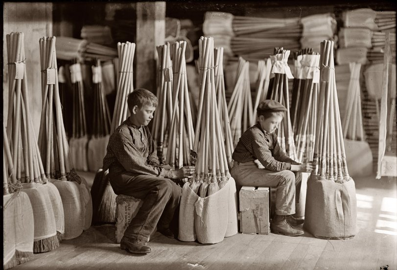 Room of Brooms: 1908