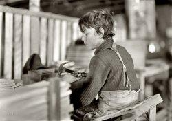 A Basket Factory: 1908