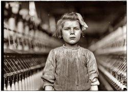 A Little Spinner: 1909