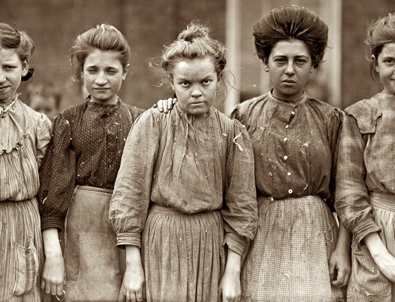 Bibb Mill Girls: 1909