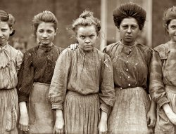 Bibb Mill Girls: 1909