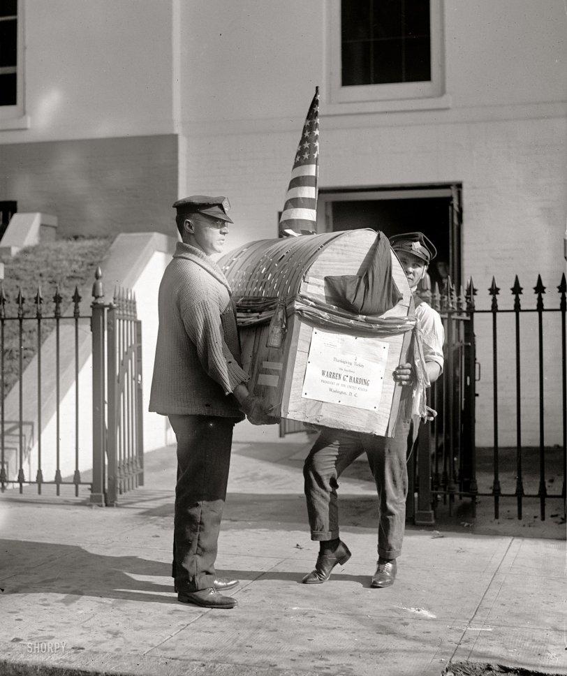 Dinner to Go: 1921