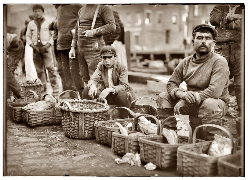Fish in a Basket: 1909