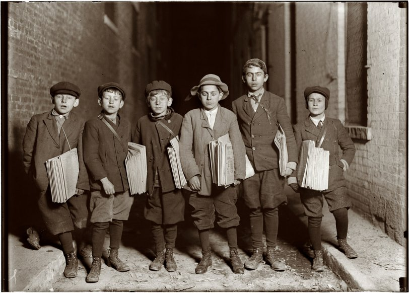 Newark Newsies: 1909