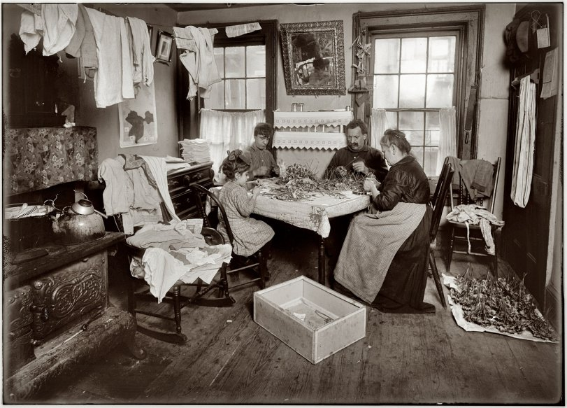 Making Pansies: 1912