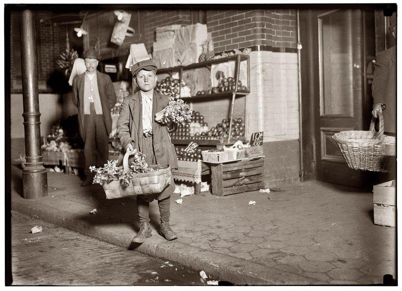 He Sells Celery: 1912