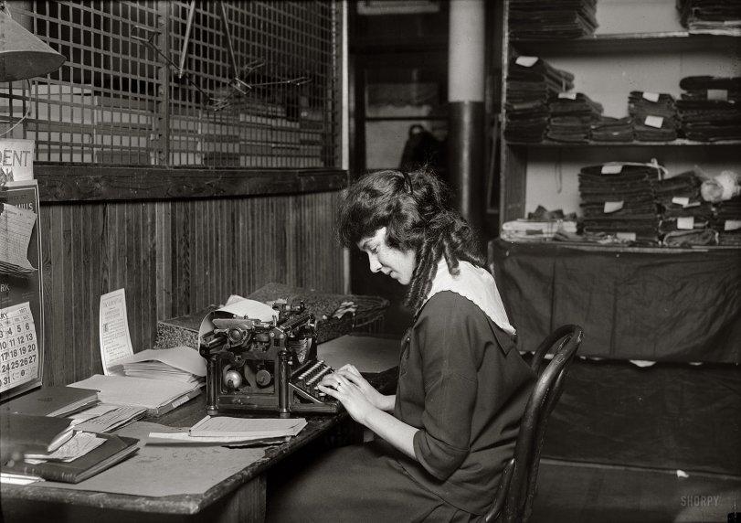 The Typist: 1917