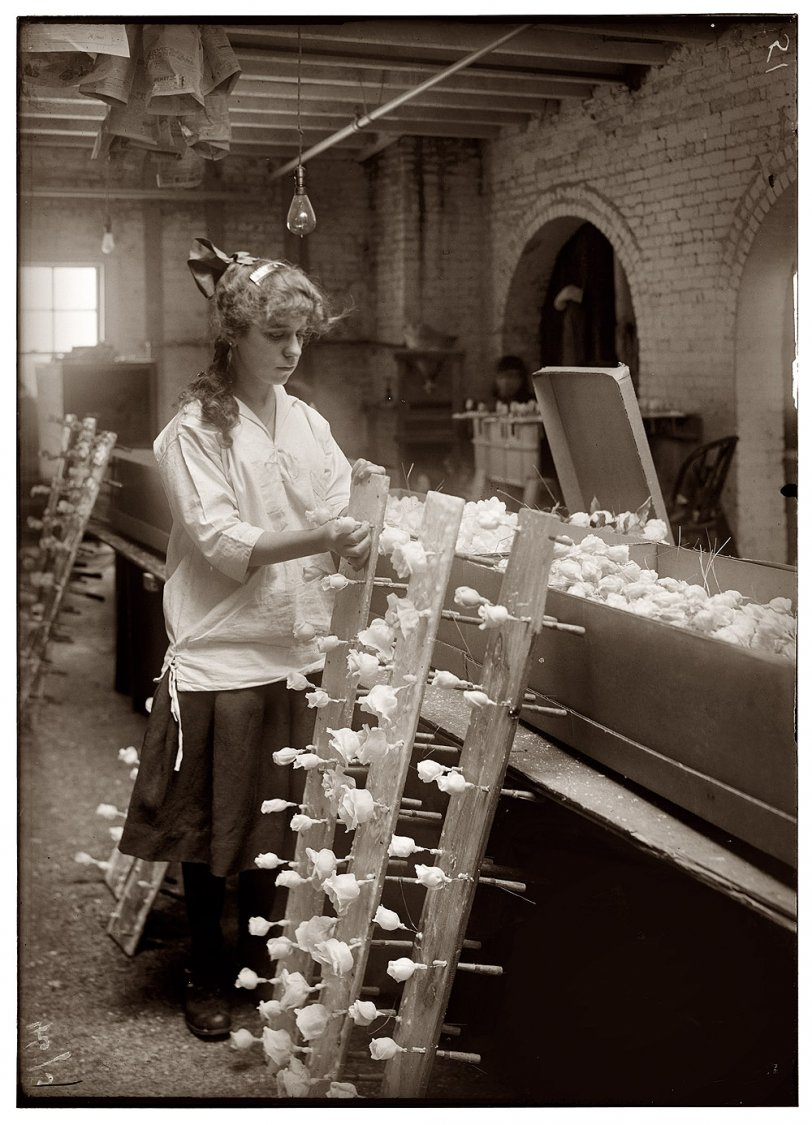 The Flower Factory: 1917