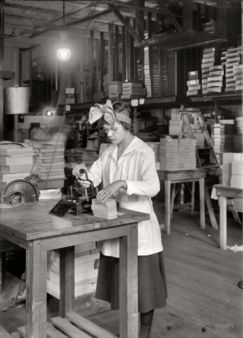 Miss Stamper: 1917