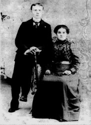 Carl and Lizzie Winter, c. 1901