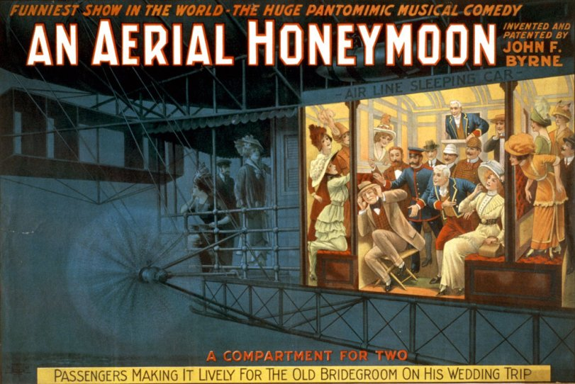 An Aerial Honeymoon: 1914