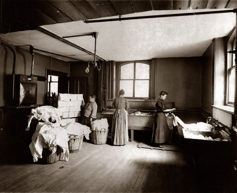 Boston Laundry: 1905