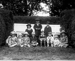 Cabinet children: 1922