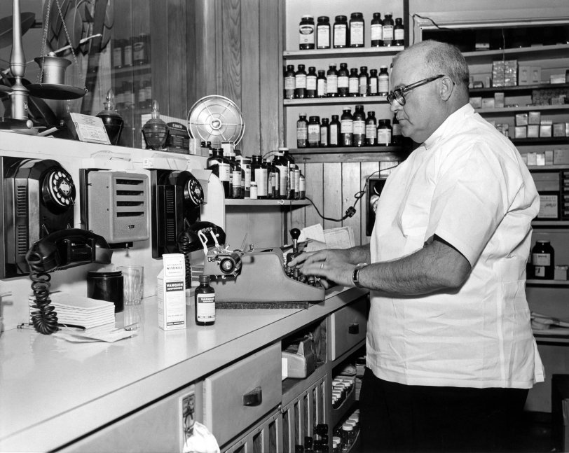 Broadway Pharmacist: 1957