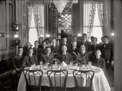 Senate Pages' Dinner: 1916