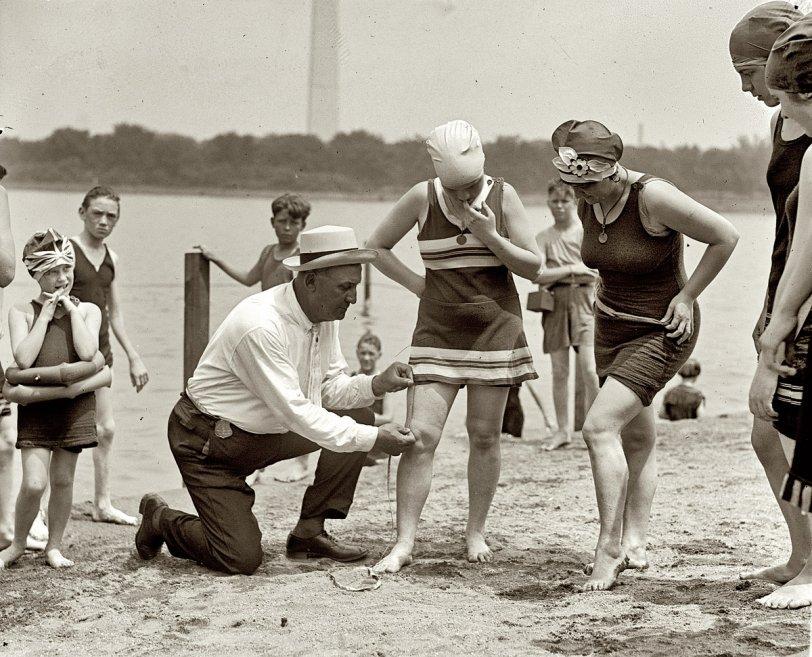 Beach Policeman: 1922