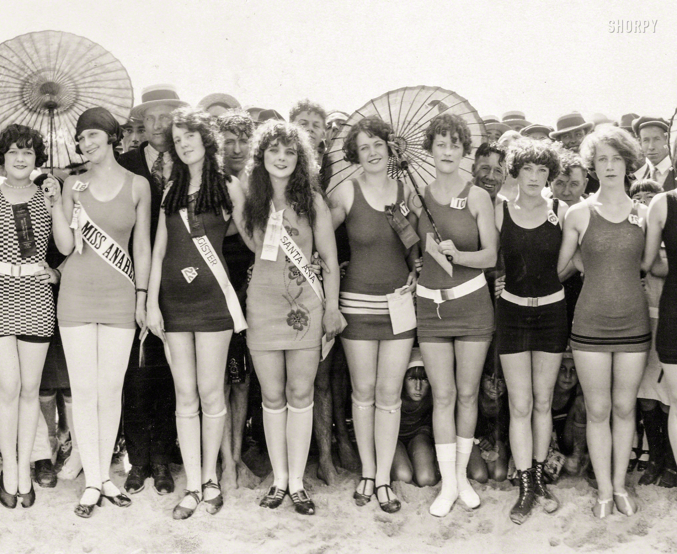 Shorpy Historic Picture Archive :: California Cuties: 1925 high-resolution  photo
