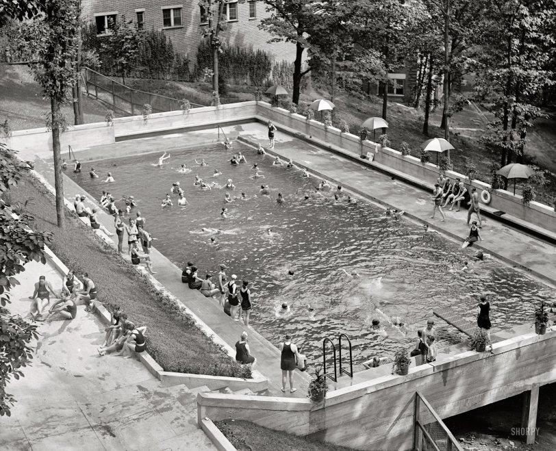 Shorpy historic picture archive vintage photos fine - Washington park swimming pool milwaukee ...
