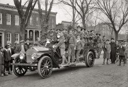 Boy Scout Fire Drill: 1916