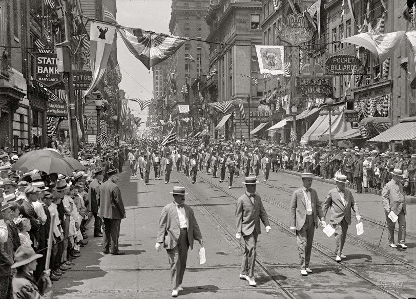 Elks Parade: 1916