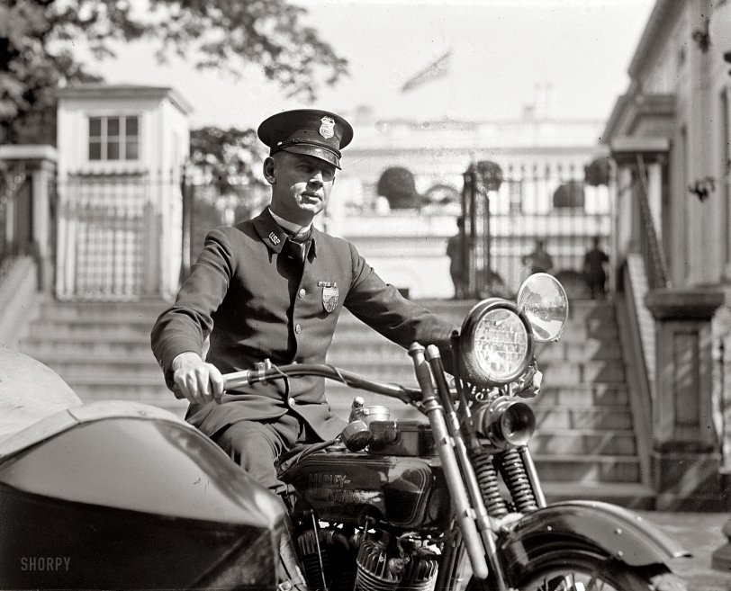 Rainey's Harley: 1922