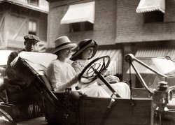 The Misses Go Motoring: 1910