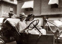The Misses Go Motoring: 1910