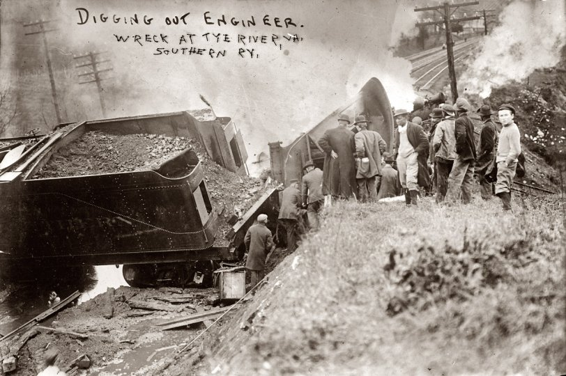 Digging Out the Engineer: 1909