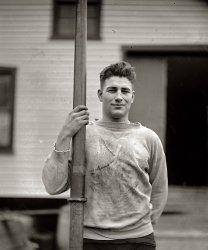 Oarsman Bolles: 1923