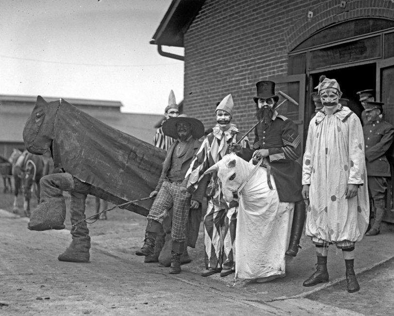 Society Clowns: 1923