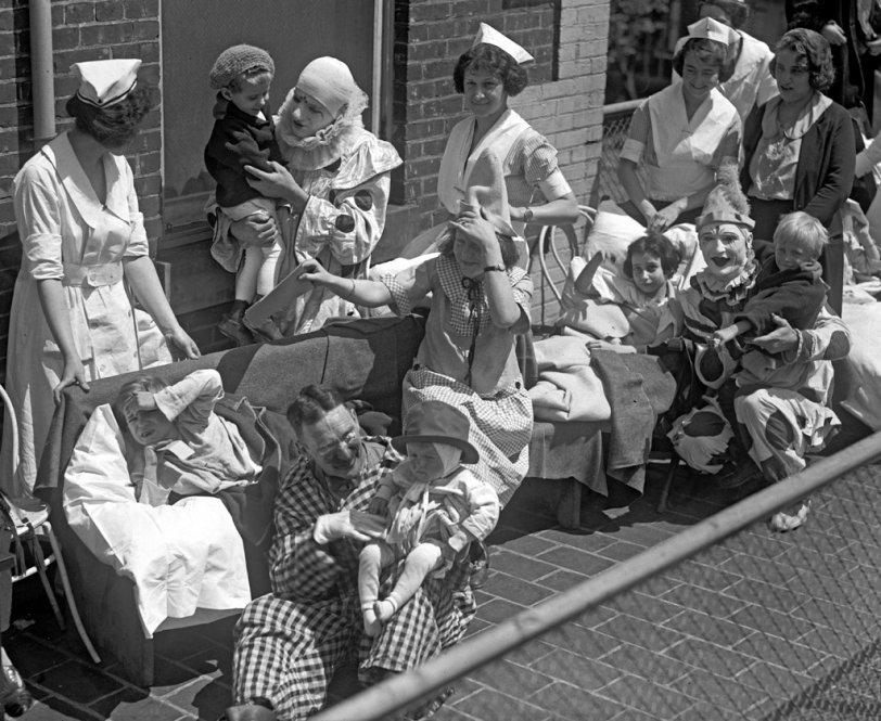 Children's Hospital Circus: 1923