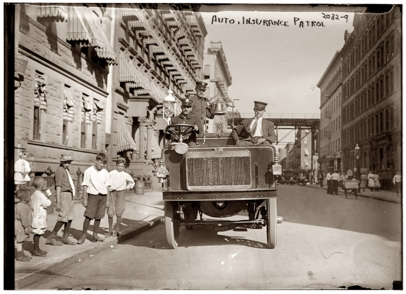 Insurance Patrol: 1913