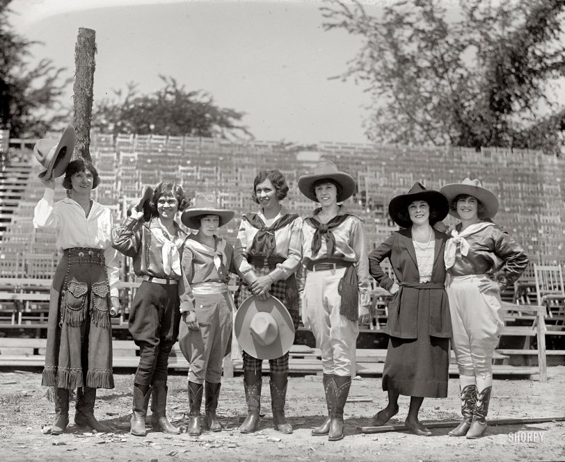 Queens of the Rodeo: 1923