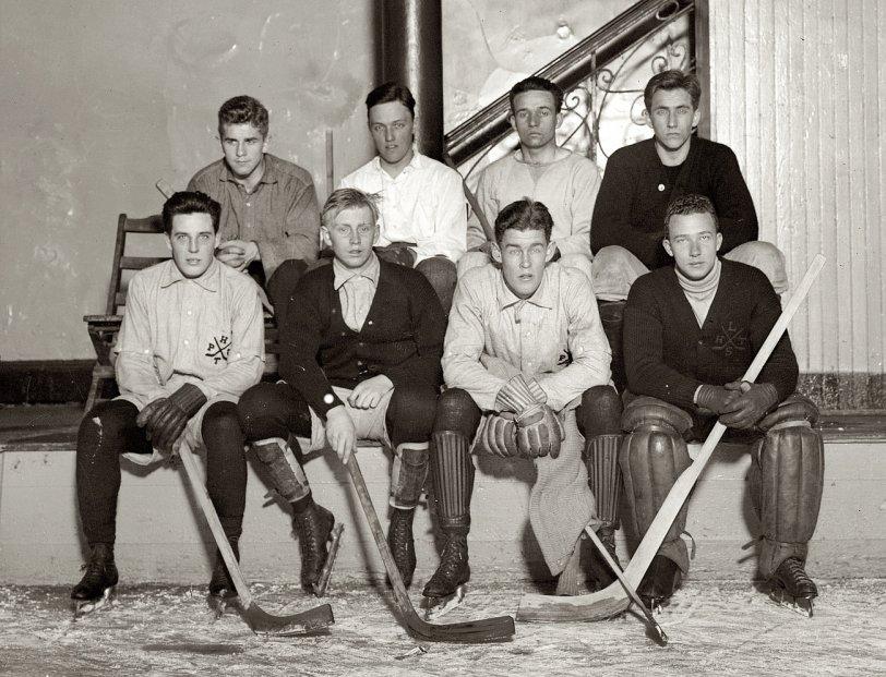 Princeton Hockey: 1910