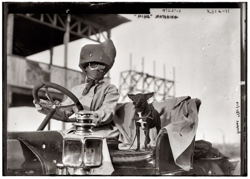 Mime Goes Motoring: 1910