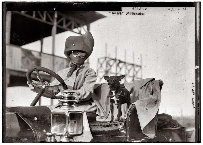 Mime Goes Motoring: 1910