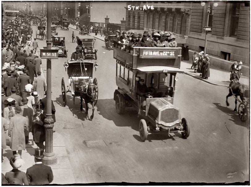 Fifth Avenue: 1913