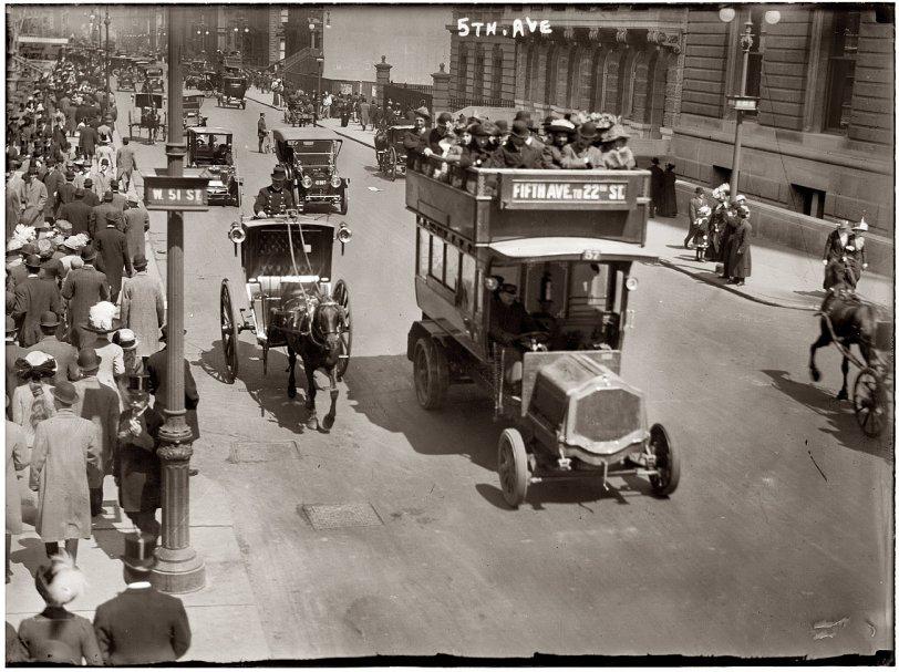 Fifth Avenue: 1913