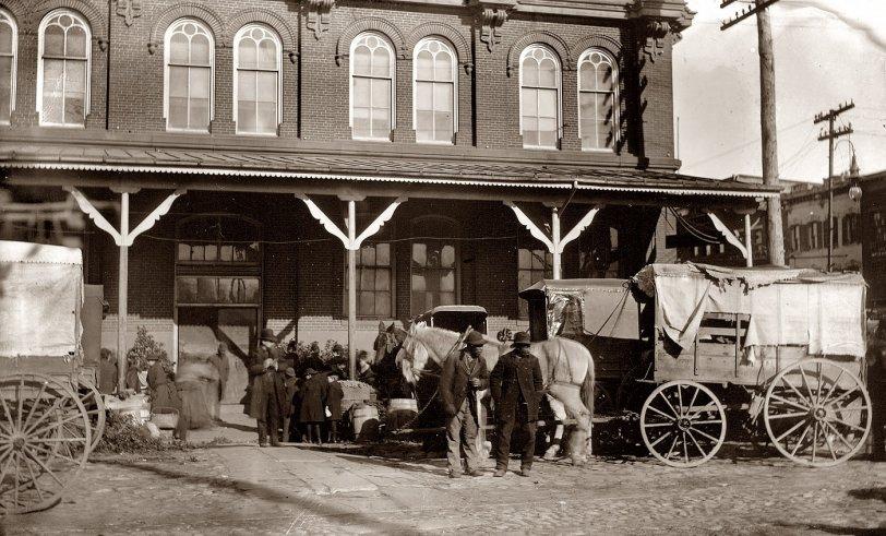 Center Market: 1890