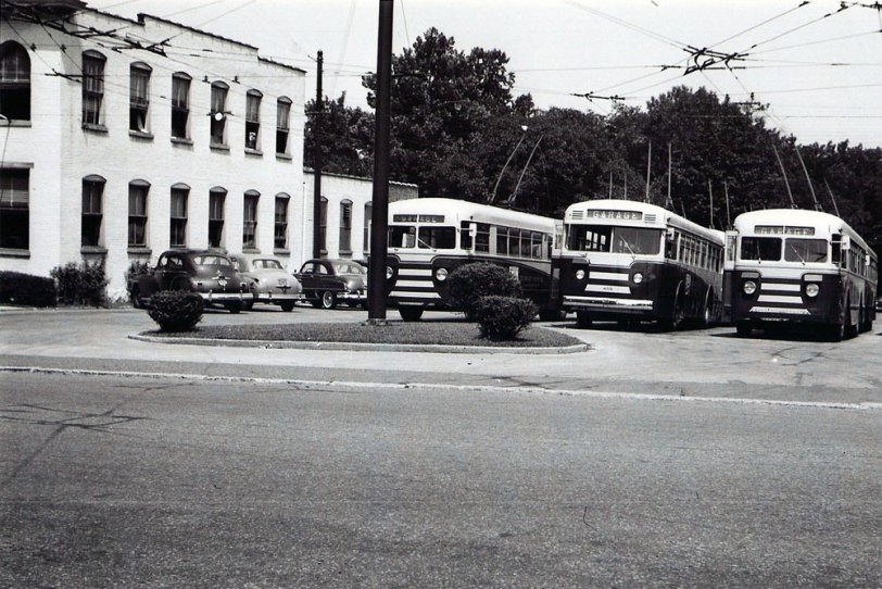Wilmington Trolley Garage: 1950