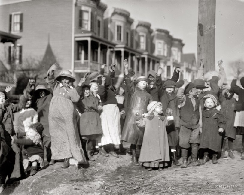 Scrambling for Pennies: 1911