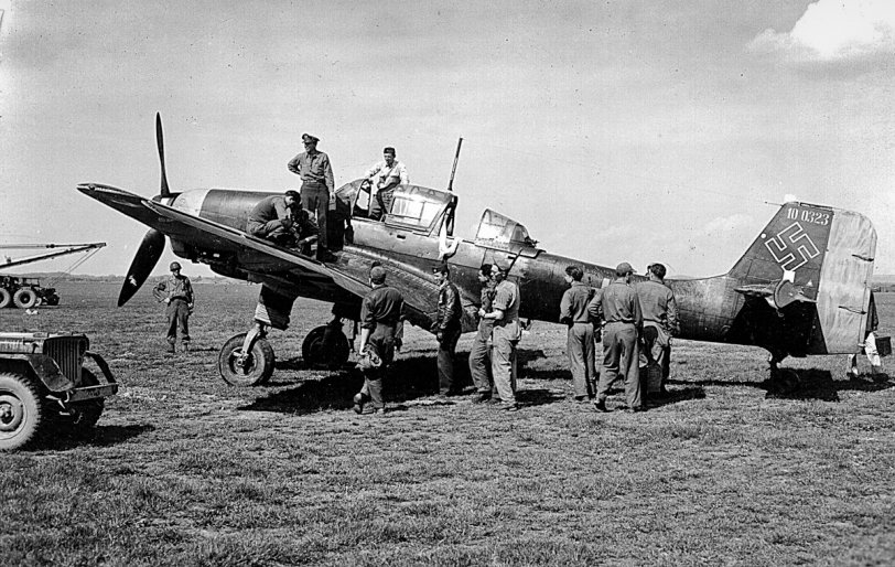 Captured German Plane