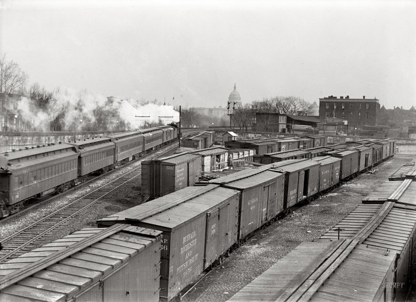 Washington Yard: 1917