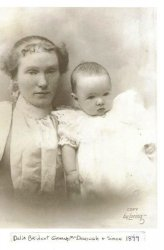 Great-Grandmother Delia: 1899