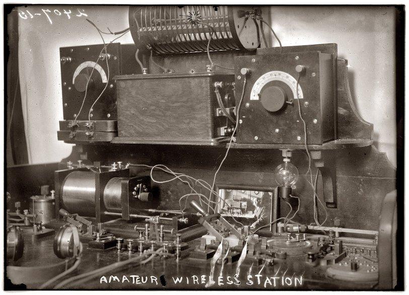 Wireless Telegraph: 1920