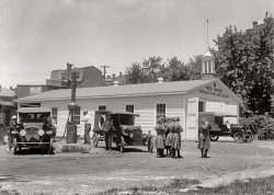 Ambulance Depot: 1917